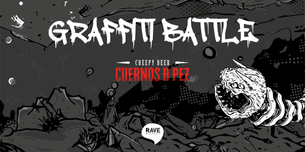 Graffiti Battle Cuernos de Pez