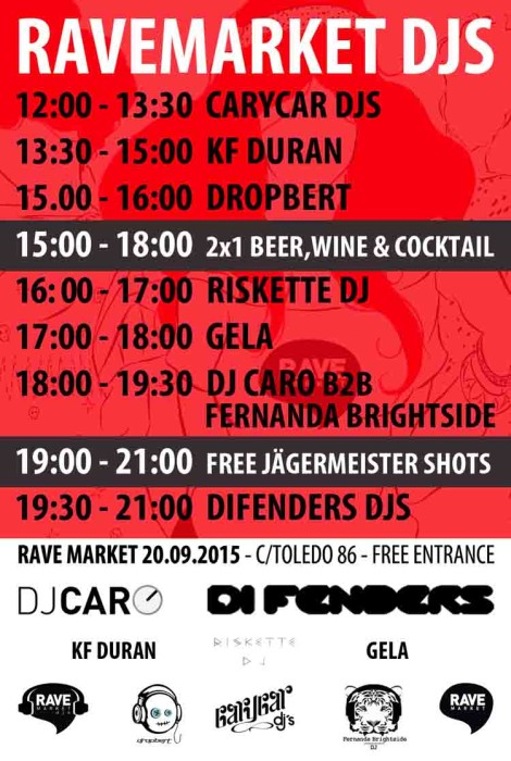 cartel ravemarket djs 20sept2015 web