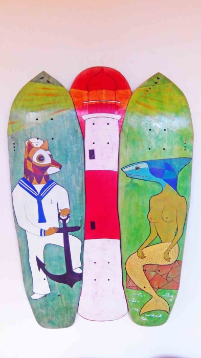 tablas de skate decoradas en ravemarket